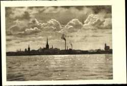 Postcard Tallinn Estland, Vaade merelt, Blick aufs Meer