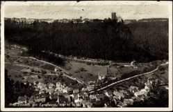 Postcard Bad Teinach Zavelstein, Blick vom Berg a.d. Ort