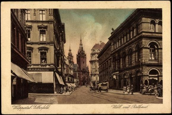 Pin ansichtskarte postkarte wuppertal elberfeld k bo haus for Hotel wuppertal elberfeld