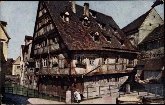 Altes Fachwerkhaus Kaufen ansichtskarte postkarte ulm an der donau altes haus an akpool de