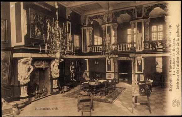 Ansichtskarte / Postkarte Brüssel, Weltausstellung 1910 ...