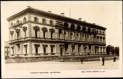 Postcard Melbourne Australien, Treasury Buildings, Regierungsgebäude