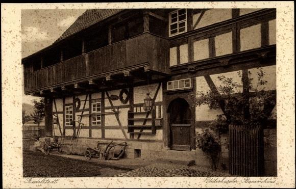 Ansichtskarte Postkarte Rudolstadt Unterhaseler Akpool De