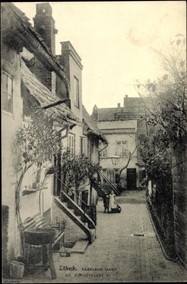 Ak-Hansestadt-Luebeck-Kaeselaus-Gang-Gr-Burgstrasse-41