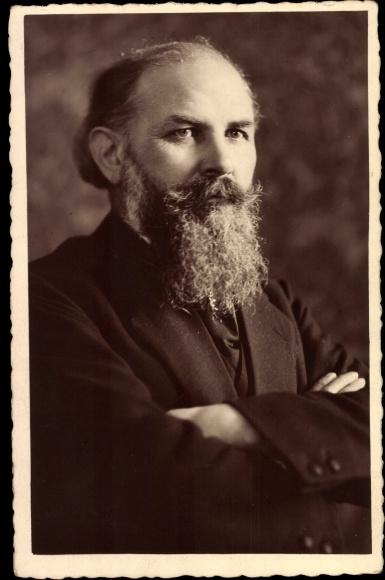 Photo Postcard Kölner Orgelbauer Anton Feith Portrait Akpoolcouk