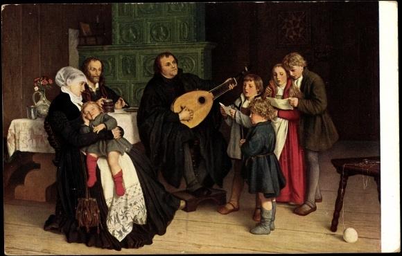 kind spielt ukulele