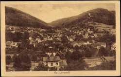 Postcard Bad Liebenzell Schwarzwald, Blick auf die Stadt