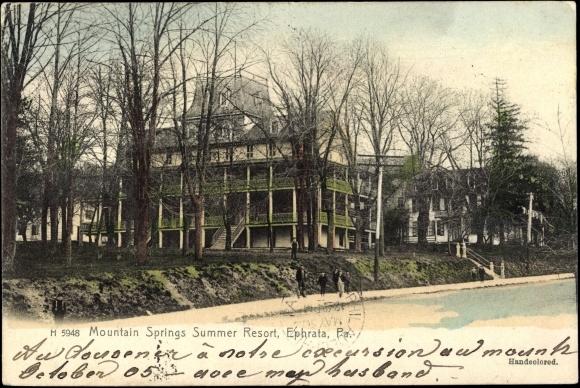 Ephrata (WA) United States  city images : Ansichtskarte / Postkarte Ephrata Pennsylvania United States of ...