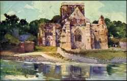 Künstler Ak County Tipperary Irland, Holy Cross Abbey