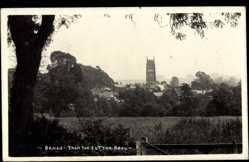 Postcard Brails East Midlands England, View from the Sutton Road