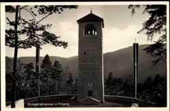Postcard Triberg im Schwarzwald, Blick auf das Kriegerehrenmal