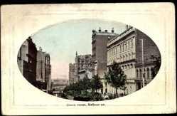 Ansichtskarte / Postkarte Melbourne Victoria Australien, general view of Queen Street