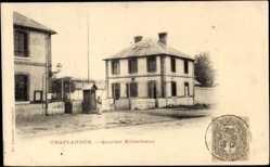 Cp Chateaudun Eure et Loir, vue générale du Quartier Kellermann