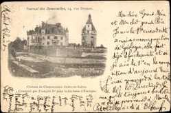 Cp Chenonceaux Indre et Loire, vue générale du Château