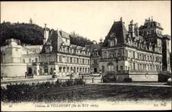 Cp Villandry Indre et Loire, vue générale du Château