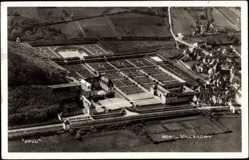 Cp Villandry Indre et Loire, vue générale de la ville, Fliegeraufnahme