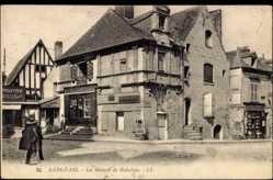 Cp Langeais en Indre et Loire, La Maison de Rabelais, Ansicht des Hauses