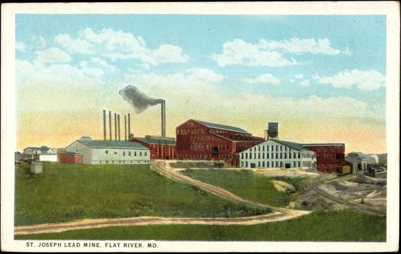 Missouri, View to the St. Joseph Lead Mine, Flat River