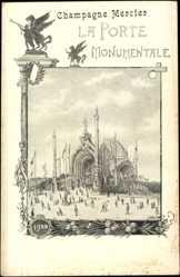 Künstler Ak Paris, Weltausstellung 1900, La Porte Monumentale