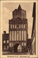 Ak Chojna Königsberg Neumark Ostbrandenburg, Bernikower Tor