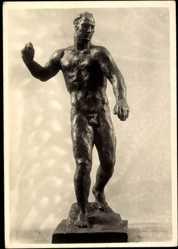 Ak Plastiken, Der Gottesstreiter von Georg Kolbe, 1934