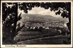 Postcard Hammelburg Mainfranken, Gesamtansicht des Ortes