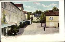 Postcard Dobrna Bad Neuhaus b. Cilli Slowenien, Partie am Kurplatz
