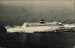 Postcard Compagnie de Navigation Mixte, Paquebot Kairouan