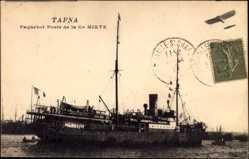 Postcard Paquebot Poste Tafna, Compagnie de Navigation Mixte