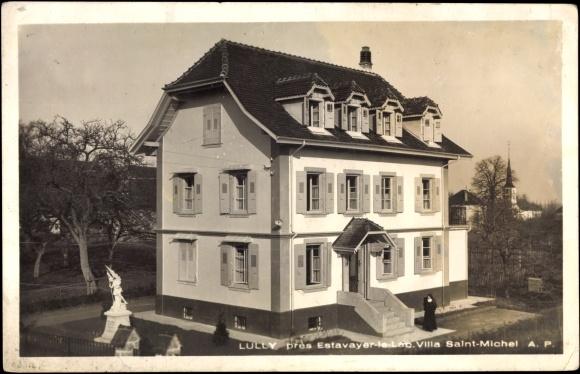 Freiburg Villa postcard estavayer le lac kanton freiburg lully villa akpool co uk