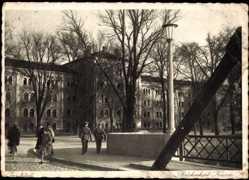 Postcard Ingolstadt an der Donau Oberbayern, Blick auf die Brückenkopf Kaserne
