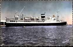 Postcard Alger, Paquebot, L'El Mansour, Compagnie de Navigation Mixte
