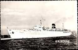 Postcard Paquebot Kairouan, Dampfschiff, Compagnie de Navigation Mixte