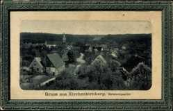 Passepartout Ak Kirchenkirnberg Murrhardt, Straßenpartie im Ort