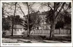 Postcard Ludwigsburg in Baden Württemberg, Partie am Standort Lazarett