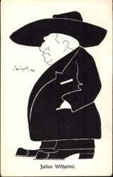 Künstler Ak Zopoth, Jan, Zoologe Julius Wilhelmi, Karikatur