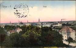 Ak Lissa Leszno Poznań Posen, Gesamtansicht der Stadt
