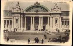 Cp Paris, Expo, Weltausstellung 1900, Facade du Grand Palais