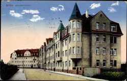 Ak Riesa an der Elbe Sachsen, Gebäude in der Sedanstraße