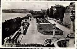 Postcard Belgrad Serbien, L'Embouchure de la Savre au Danube