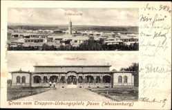 Ak Biedrusko Weißenburg Poznań Posen, Truppenübungsplatz, Offizierkasino