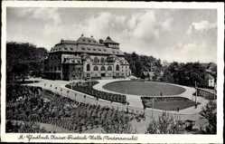 Postcard Mönchengladbach, Vorderansicht der Kaiser Friedrich Halle