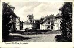 Postcard Grafenwöhr im Oberpfälzer Hügelland Bayern, Truppenübungsplatz