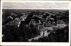 Postcard Grafenwöhr, Teilansicht, Blick über die Dächer, Fachwerkhäuser