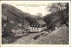 Postcard Presseck Oberfranken, Sommerfrische, Frankenwald, Schlackenmühle