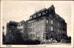 Postcard Mönchengladbach Rheydt in Nordrhein Westfalen, Blick auf höhere Mädchenschule