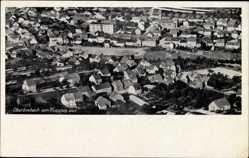 Postcard Oberbexbach Bexbach Saarpfalz, Fliegeraufnahme von der Ortschaft