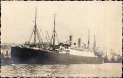 Foto Ak Dampfschiff Cleveland, Hamburg Amerika Linie, HAPAG