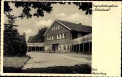 Postcard Ahrensburg, Blick auf das Tageserholungsheim Birkenbusch