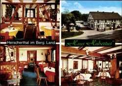 Postcard Bechen Herscherthal Kürten in Nordrhein Westfalen, Haus Hubertus, P. Balzer